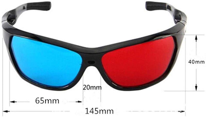 Che cosa sono gli occhiali 3d anaglifici? Come si usano?