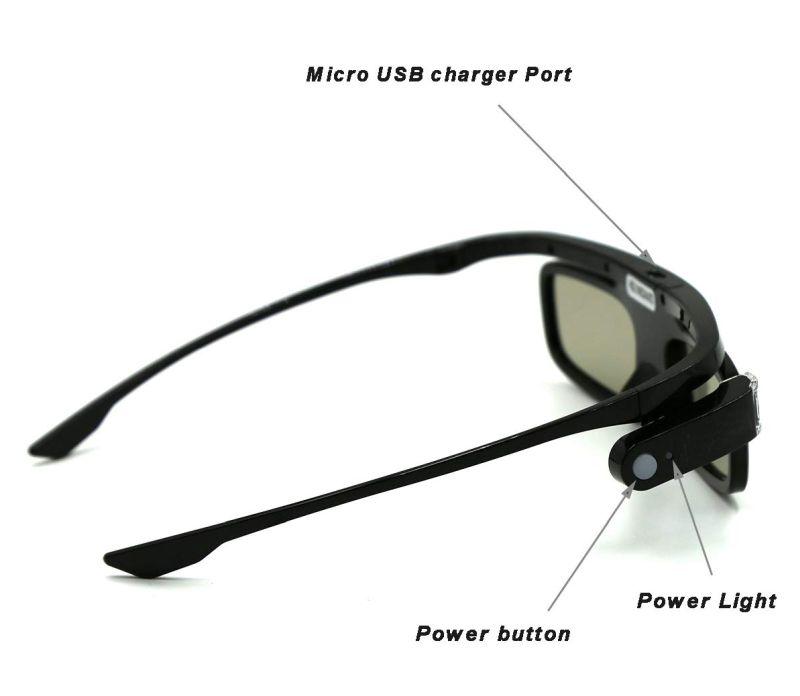 In che modo si ricaricano gli occhiali 3d?