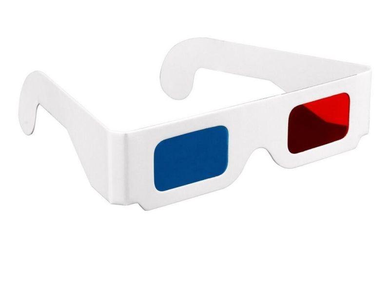 Occhiali 3d di carta, cosa sono e come si usano?