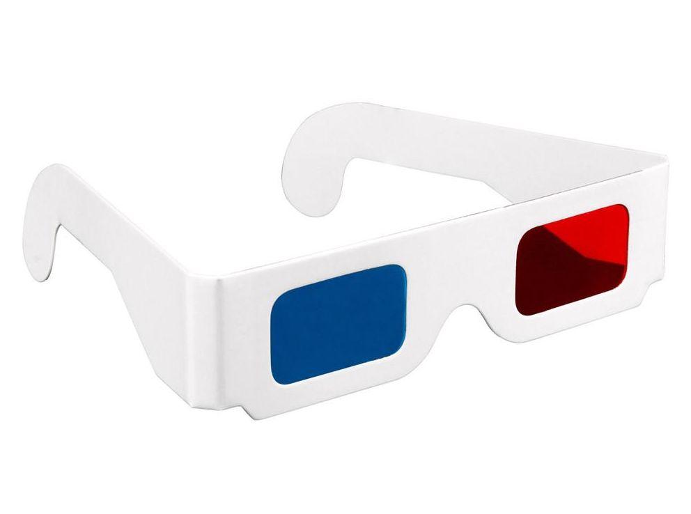 Perché gli occhiali 3d rossi e blu?